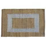 Border Jute & Metallic Rug