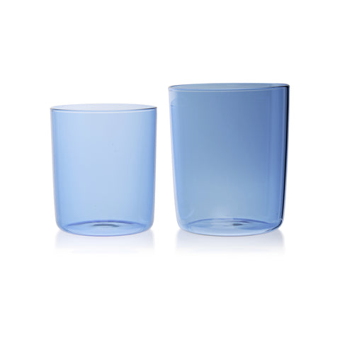 Clear Glass Star Carafe and Glass Set