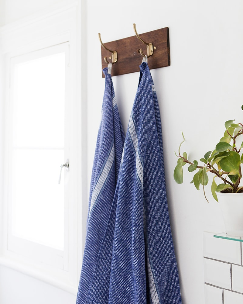 Cobalt Summer Towel