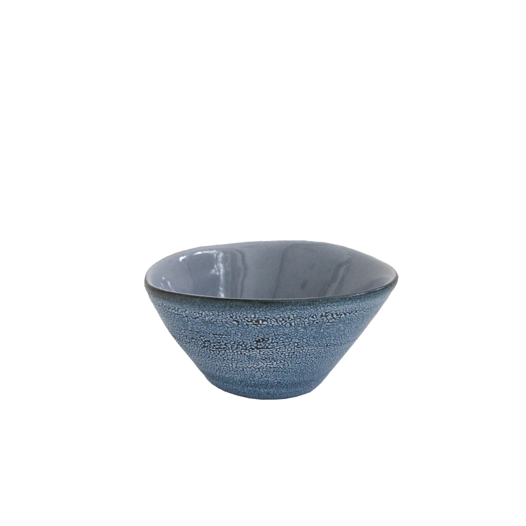 Small Grey Textured Bowl