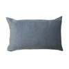 Rectangular Grey Velvet Cushion