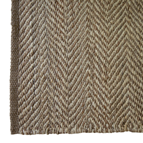 Diamonds & Stripes Dhurrie Rug