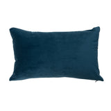 Rectangular Teal Velvet Cushion