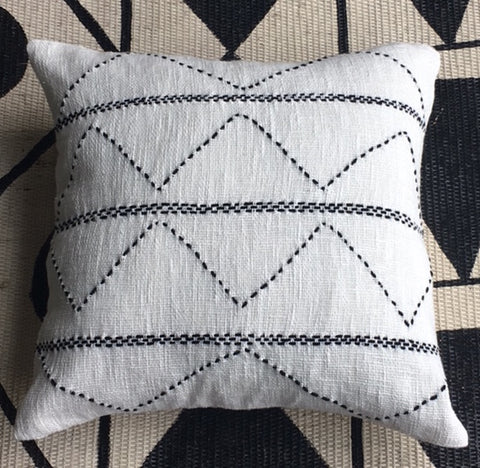 Uteki Mud Linen Cushion