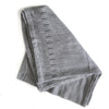 Charcoal Bakuba Throw