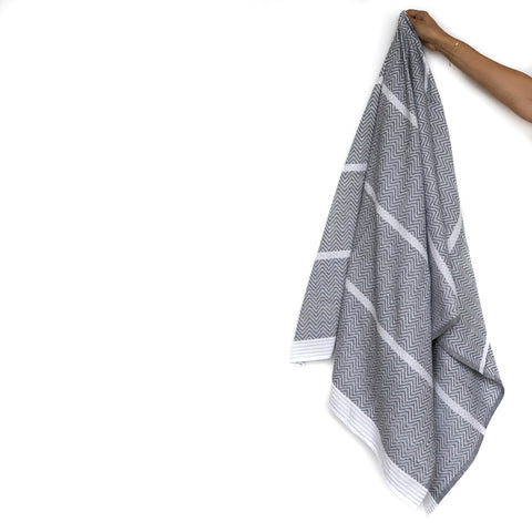 Thunder Grey Tawulo Hand Towel