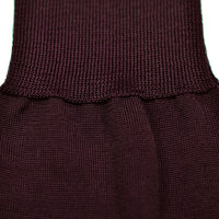 Dublo Original - Plain knee high dress socks - Burgundy