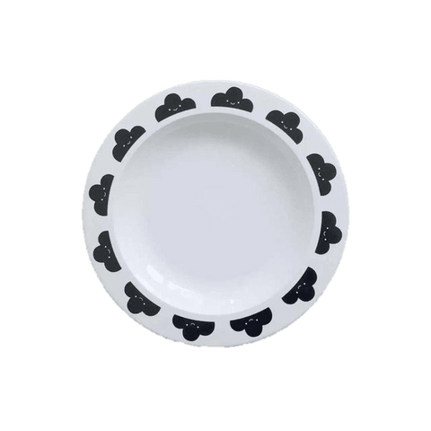 Cloud Melamine Plate