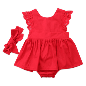 Caroline Skirted Romper Set