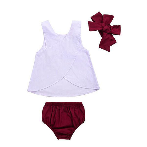 Purple Bloomers Set