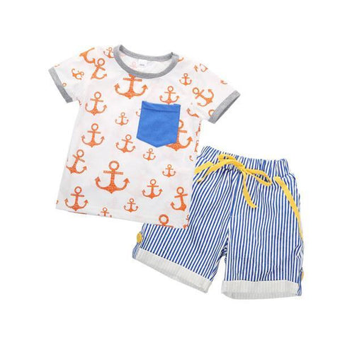 Anchor Stripes Set