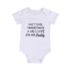 Girl's Love For Her Daddy Bodysuit