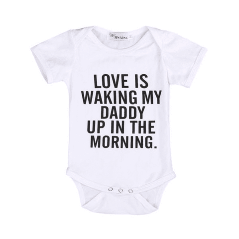 Waking Up with Daddy Bodysuit