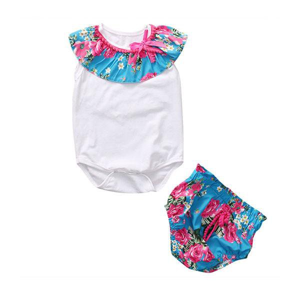 Floral Bloomers Set