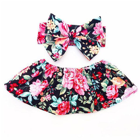 Summer Floral Top Set