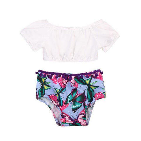 Butterfly Top & Bloomers Set