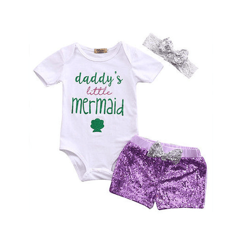 Daddy's Little Mermaid Set