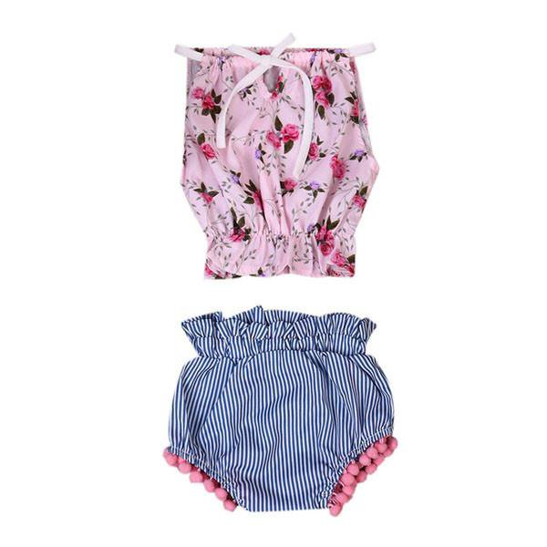 Lyla Floral Bloomers Set