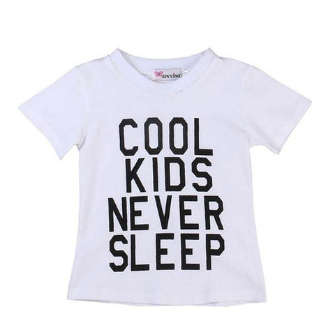 Cool Kids Never Sleep Shirt