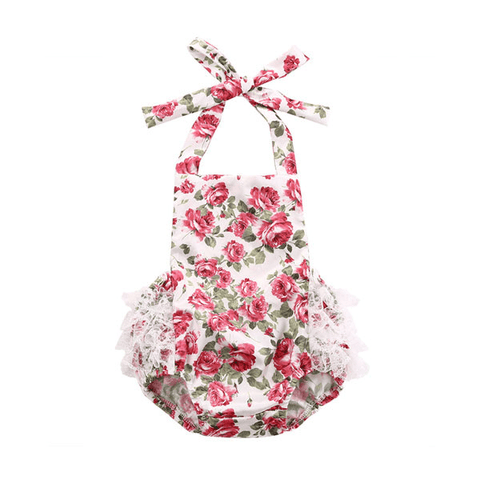 Rose Blooms Sunsuit