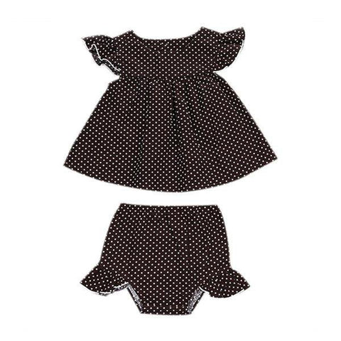 Polka Dots Shorts Set