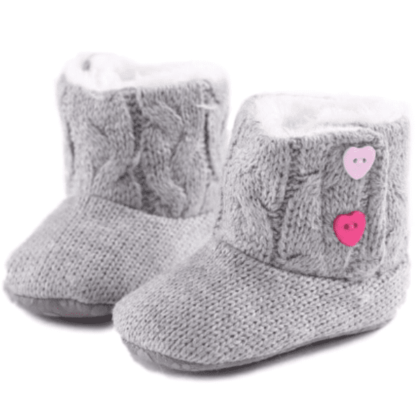 Dakota Knitted Booties