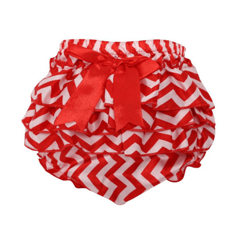 Red Zigzag Bloomers