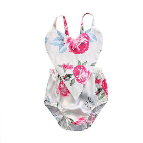 Blossoms Heart Sunsuit