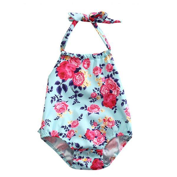 Andrea Floral Sunsuit