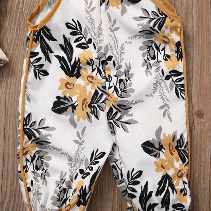 Sleeveless Floral Jumpsuit by Elsewhereshop