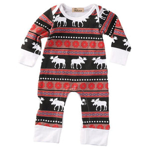 Christmas Moose Family Set by Elsewhereshop