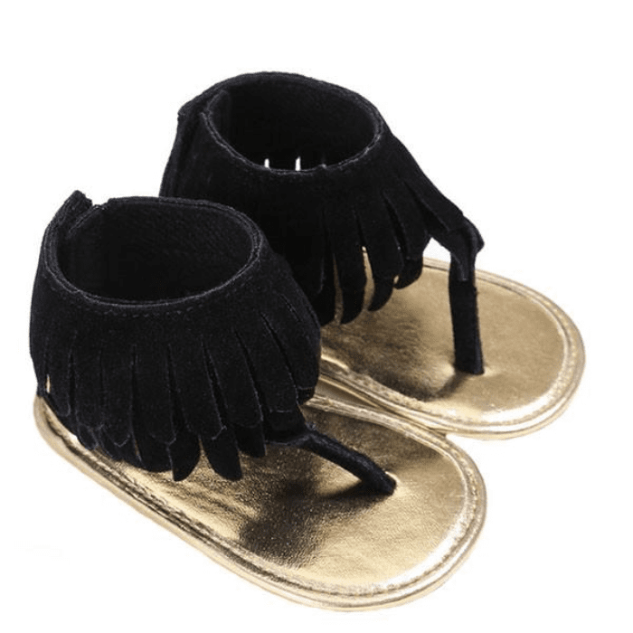 Tassel Ankle Sandals by Elsewhereshop