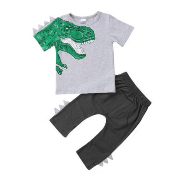 Dinosaur Shirt & Pants Set