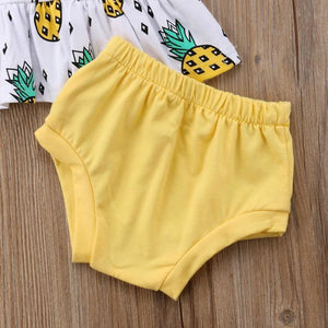 Pineapple Peplum Set by Elsewhereshop