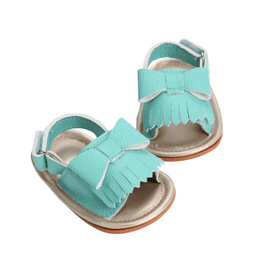 Bow Knot Open Toe Sandals by Elsewhereshop
