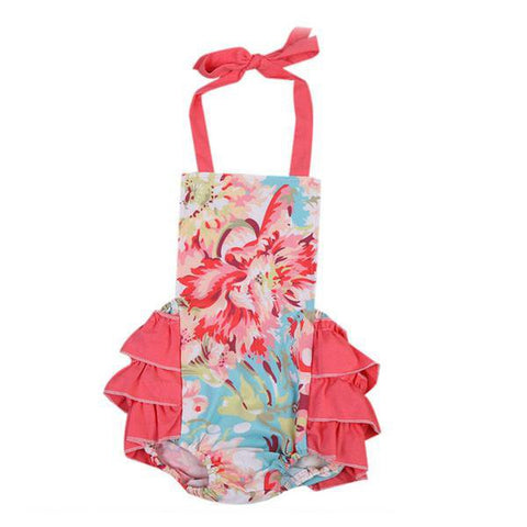 Ethel Floral Sunsuit