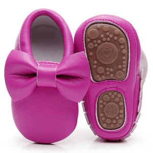 Donna Bowknot Moccasin Shoes