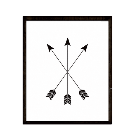 Three Arrows Wall Print