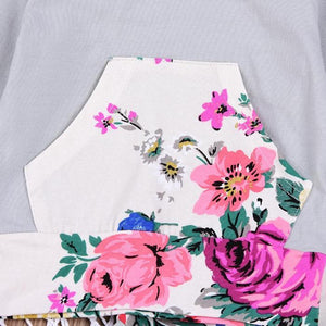 Paisley Floral Hoodie Set by Elsewhereshop