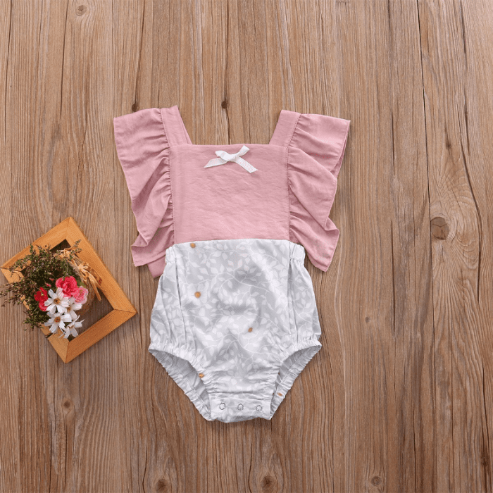 Camellia Ruffles Romper by Elsewhereshop