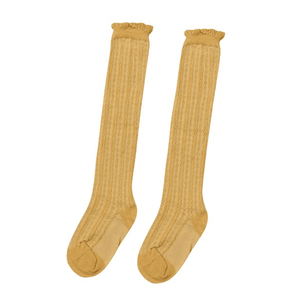 Beverly Knitted Knee Socks by Elsewhereshop