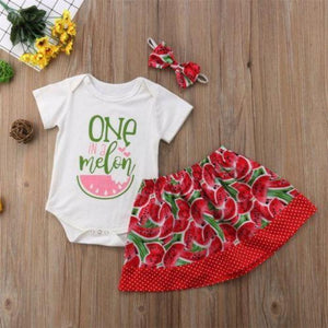 One In A Melon Set by Elsewhereshop