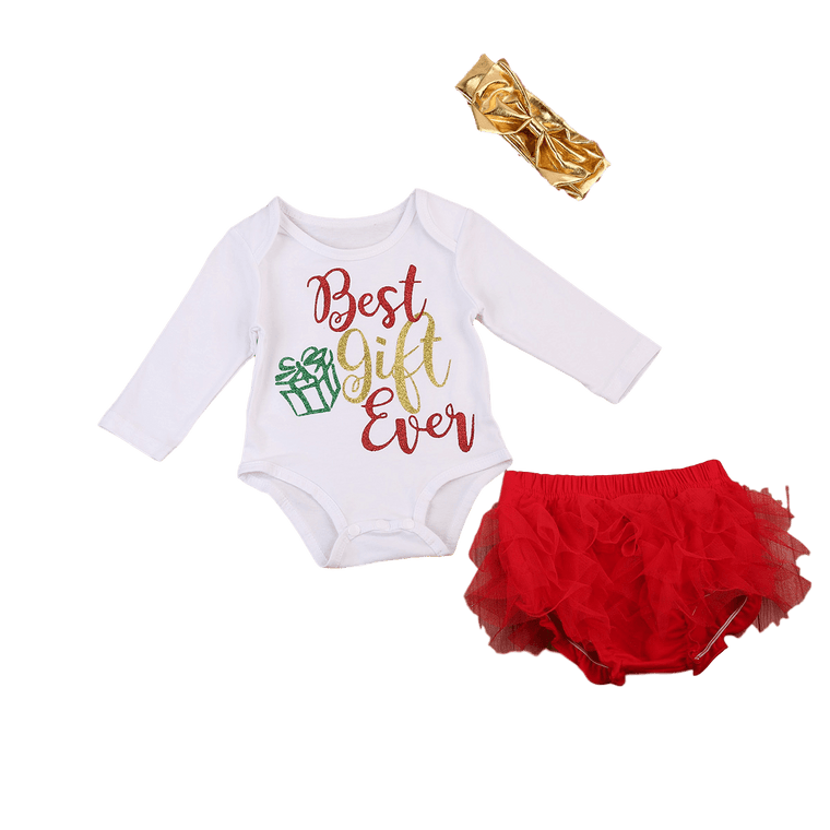 Best Gift Ever Bloomers Set