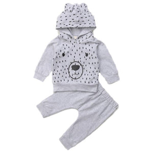 Gerry Bear Hooded Set by Elsewhereshop