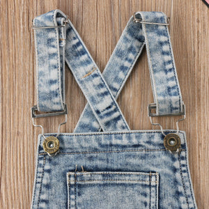 Bridget Denim Overalls by Elsewhereshop