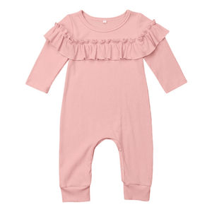 Claire Ruffled Jumpsuit by Elsewhereshop
