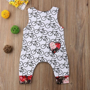 Mindy Bicycle Jumpsuit by Elsewhereshop