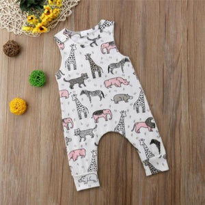 Animal Land Jumpsuit by Elsewhereshop