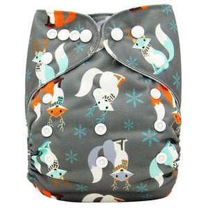 Winter Fox Diaper Cloth by Elsewhereshop