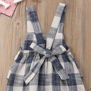Gina Plaid Romper by Elsewhereshop